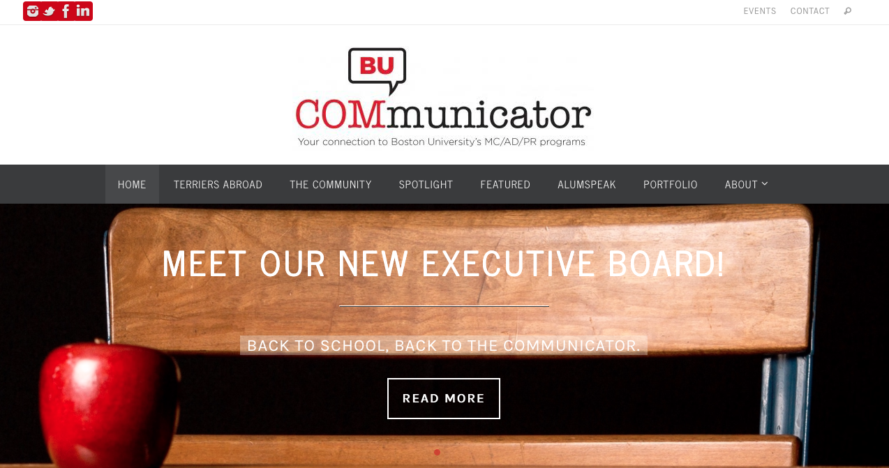 The Boston University COMmunicator